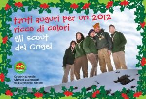 Auguri dal CNGEI di Catania