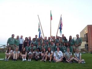 CNGEI Catania e GSUSA Michigan all'inaugurazione dell'Eco-Parco Olave Baden Powell
